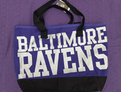 Baltimore Ravens Canvas Tote Bag