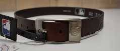 Baltimore Orioles Leather Belt