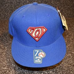 Washington Nationals Superman Limited Edition Hat