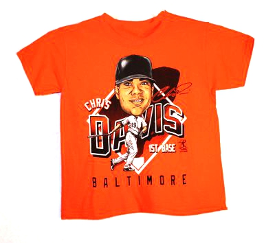 Davis Orange Character T-Shirt