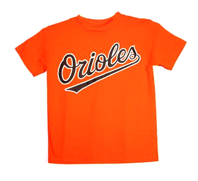 Orioles Script Youth T-Shirt