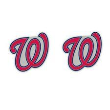 Washington Nationals Post Earrings