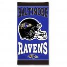 ravens beach towel