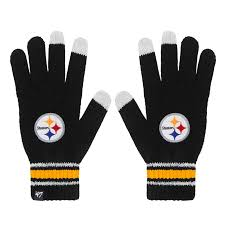 Pittsburgh Steelers Knit Texting Gloves