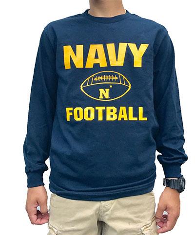 782fd908ac7 Wild Bill's Sports Apparel :: College Gear :: Navy Football Long ...