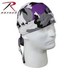 Ravens Camo Head Wrap