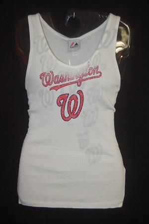 Washington Nationals Ladies Tank Top