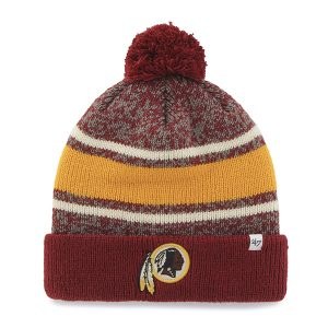 Washington Redskins Fairfax Pom Knit Cap By '47 Brand