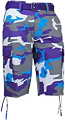 Evolution Purple Camo Shorts