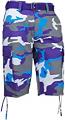 Regal Wear Purple Camo Shorts