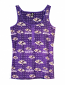Concept Sports Ravens Ribbed Fleece Tank Top