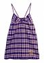 Concept Sports Ravens Plaid Nightgown
