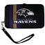 Baltimore Ravens Shell Wristlet