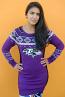Baltimore Ravens Ugly Sweater Dress