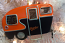 Baltimore Orioles Camper Trailer Ornament
