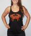 Wild Bill's Paisley Crab Ladies Tank Top