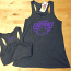 Wild Bill's Baltimore Football Ladies Flowy Tank