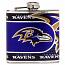 Baltimore Ravens Stainless Steel 6oz. Flask