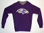 Baltimore Ravens Men's Steel Executive Sweater By Anitigua
