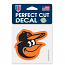 "Baltimore Orioles 4"" Decal"