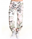 Ladies Vintage Subdued Pink Camo Paratrooper Fatigue Pants