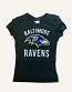 Baltimore Ravens Ladies Baby Doll T-Shirt