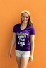 Baltimore Ravens Expect To Be Loud Ladies Graphic T-Shirt
