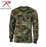 Rothco Woodland Camo Long Sleeved T-Shirt