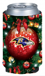 Baltimore Ravens Holiday Can Cooler