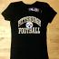 Pittsburgh Steelers Black Ladies T-Shirt