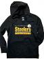 Pittsburgh Steelers Ladies Pullover Hooded Sweatshirt