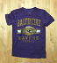Baltimore Ravens Heathered Purple Soft Style Youth T-Shirt