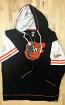 Baltimore Orioles Ladies Gametime Zippered Hooded Sweat