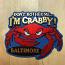 Maryland I'm Crabby Magnet Blue