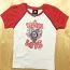 Washington Nationals Baseball Love Girls T-Shirt