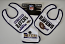 Baltimore Ravens 3 Piece Bib & Burp Cloth Set