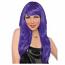 Ladies Purple Wig
