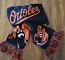 Baltimore Orioles Winter Scarf