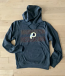 Washington Redskins Athletic Gray Hooded Sweatshirt