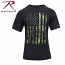 Rothco Camo US Distressed Flag Athletic Fit T-shirt