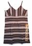 Concept Sports Orioles Black Striped Nightgown