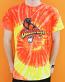 The Bird Orange Tie Dye T-Shirt