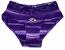 Ravens Purple Striped Lace Panties