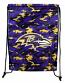 Ravens Camo Drawstring Backpack