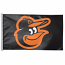 Baltimore Orioles Cartoon Bird House Flag