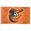 Baltimore Orioles Cartoon Bird Orange House Flag