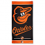 Baltimore Orioles Black Beach Towel
