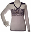 Burnout V-Neck Ravens Long Sleeve Shirt