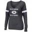 Baltimore Ravens Ladies V-Neck Sweat