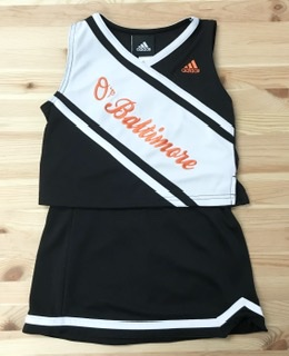 Baltimore Orioles Girls Cheerleader Set